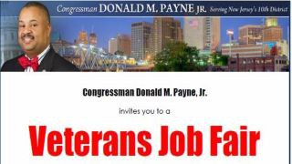 Congressman Donald M. Payne, Jr. invites you to a Veterans Job Fair